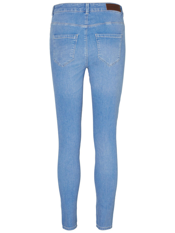 NINE HW ANKLE SKINNY FIT JEANS, Medium Blue Denim, large