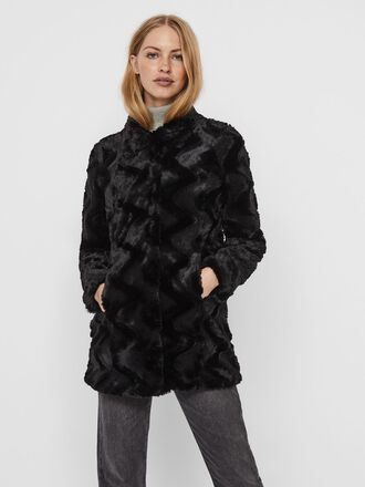 SYNTHETIC FUR JACKET
