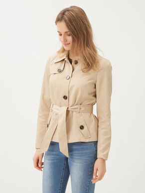 SHORT TRENCHCOAT