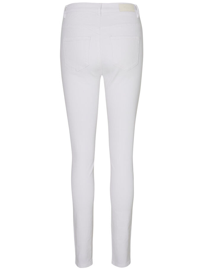 NINE HW SKINNY FIT JEANS, Bright White, large