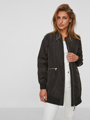 LONG BOMBER JACKET