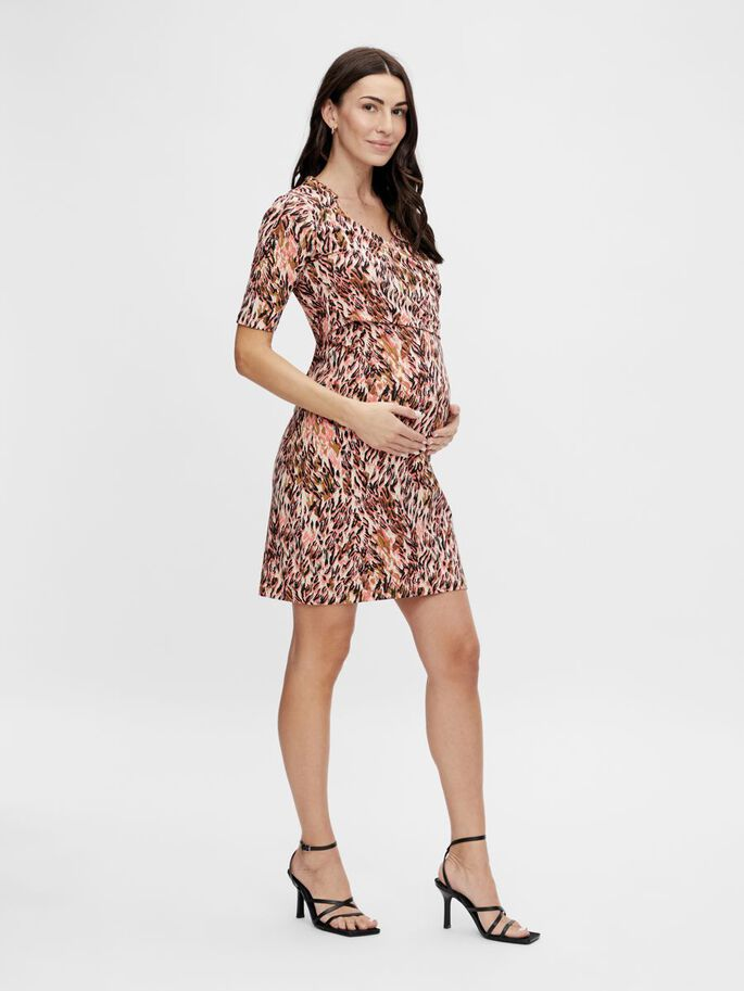 MLNORA 2-IN-1 MATERNITY DRESS, Shell Pink, large