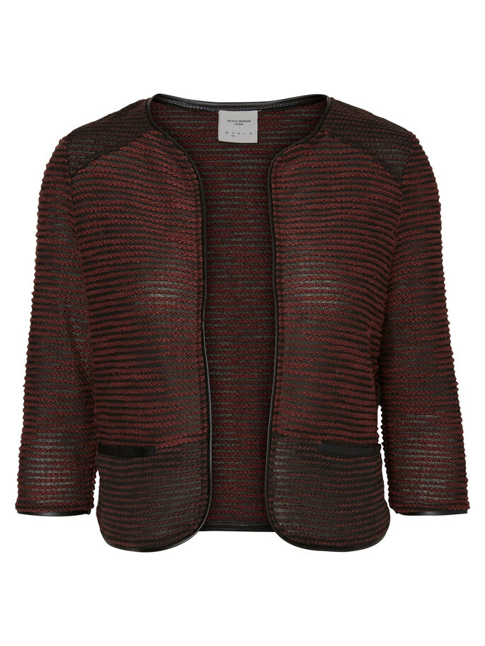 SWEAT VEST, Decadent Chocolate, large