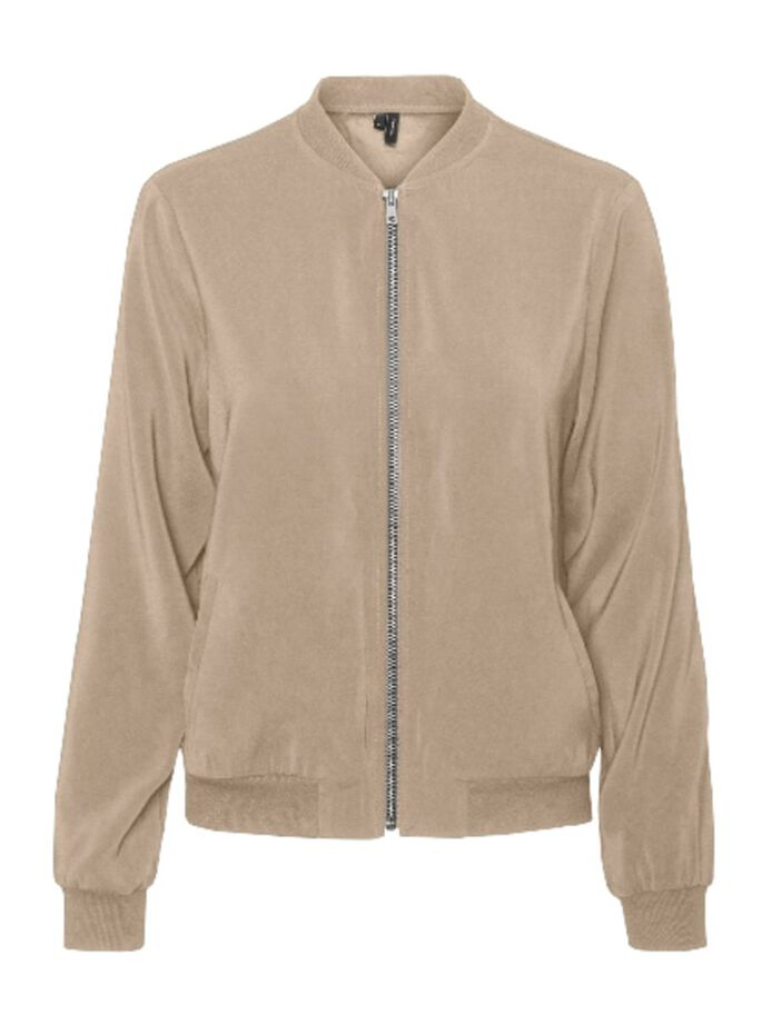 LONG SLEEVED BOMBER JACKET, Nomad, large