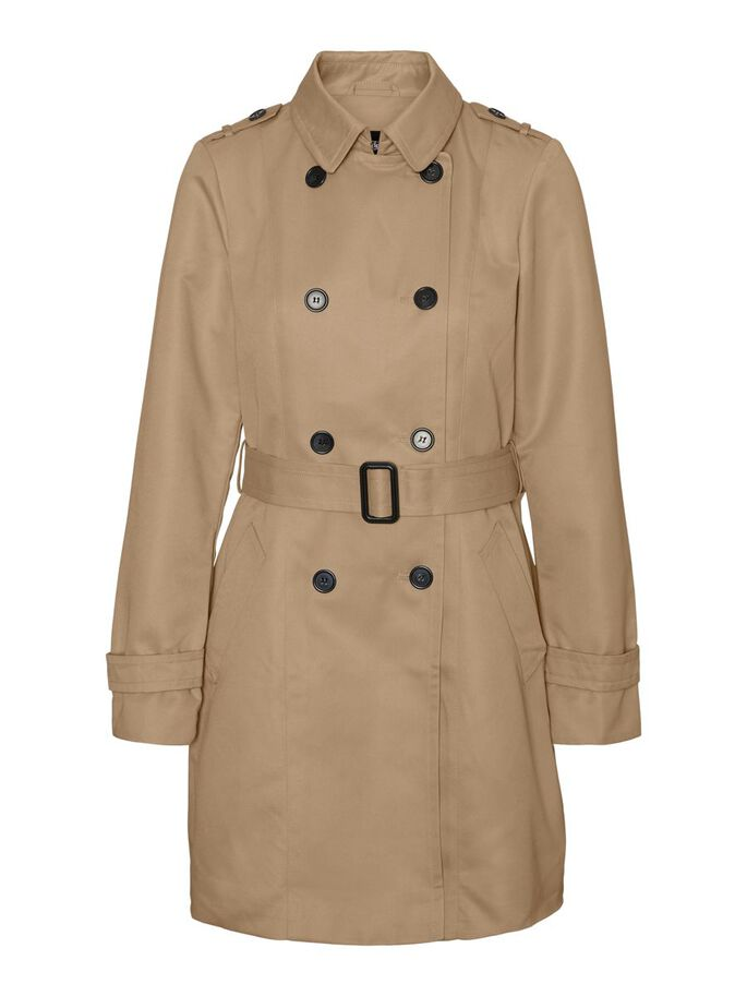 BELT TRENCHCOAT, Travertine, large