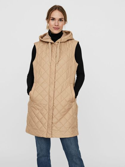 LONG QUILTED WAISTCOAT