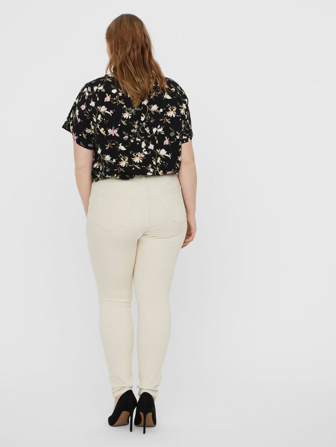 VMLORA HIGH WAIST TROUSERS, Birch, large
