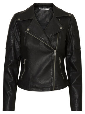 LEATHER-LOOK JACKET