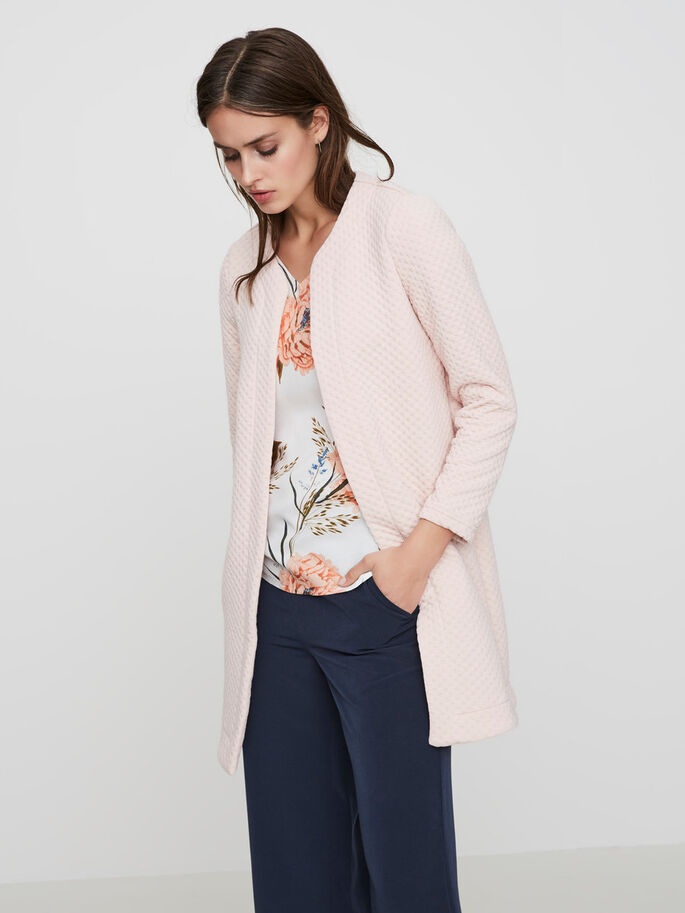 LONG BLAZER, Peach Whip, large