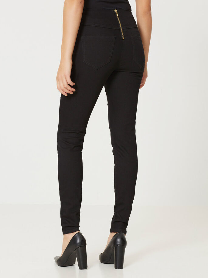 GELLER HW LEGGINGS, Black, large