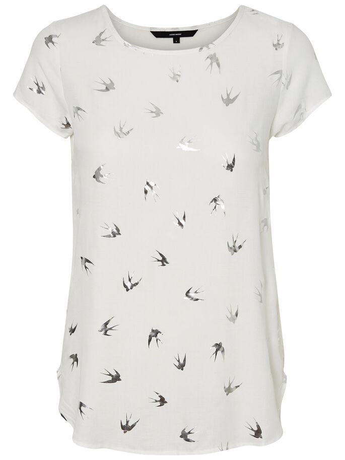 CASUAL T-SHIRT, Snow White, large