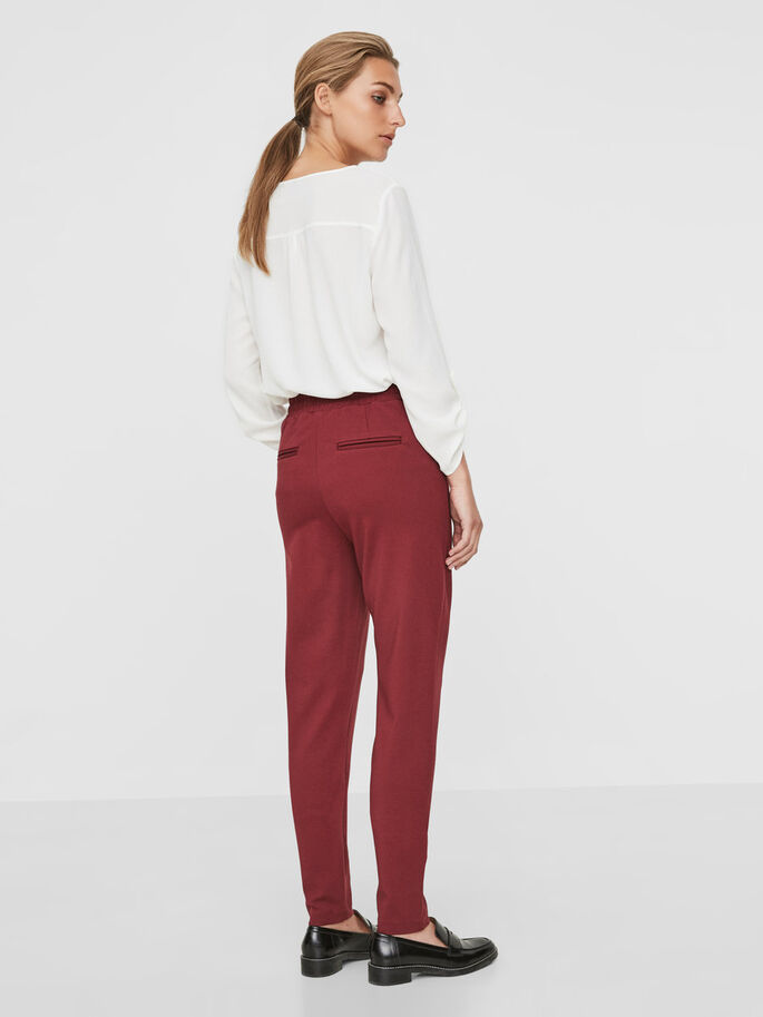 RORY NW LOOSE FIT TROUSERS, Zinfandel, large