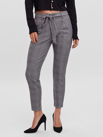 LOW WAIST LOOSE FIT TROUSERS
