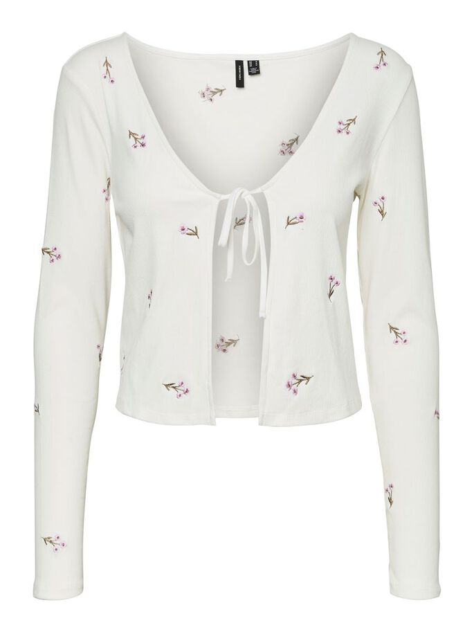 EMBROIDERY CARDIGAN, Snow White, large