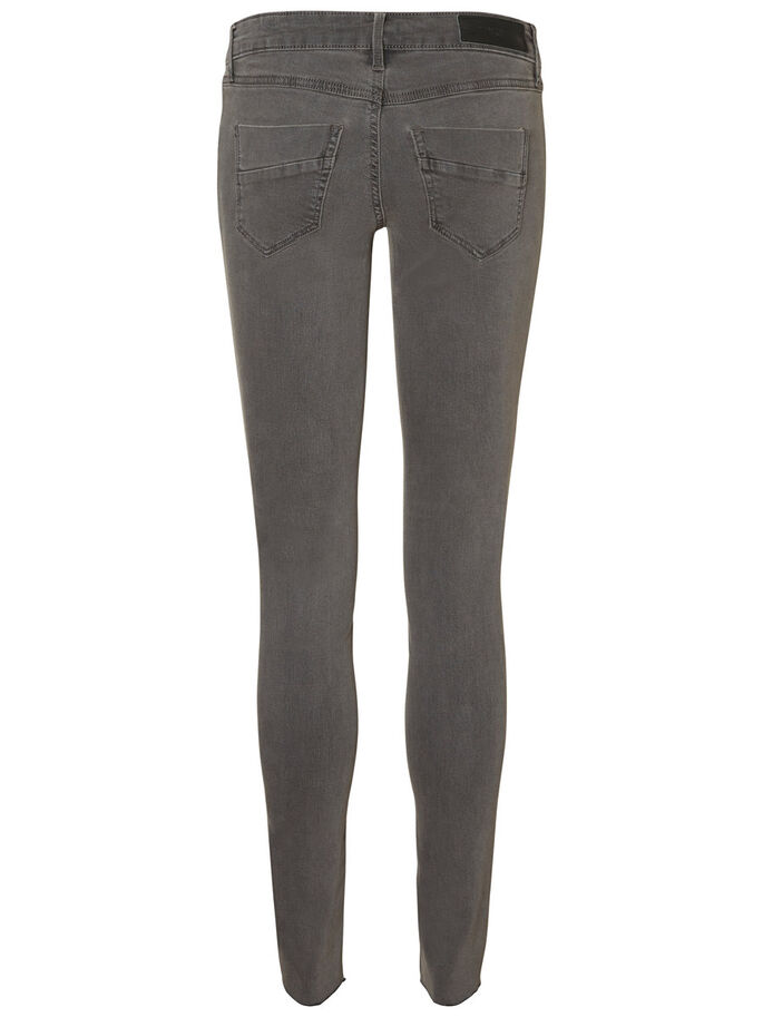 FIVE LW SKINNY FIT JEANS, Dark Grey Denim, large
