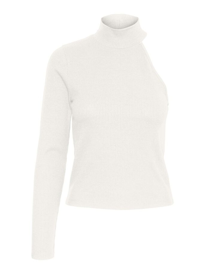 HIGH NECK TOP, Snow White, large