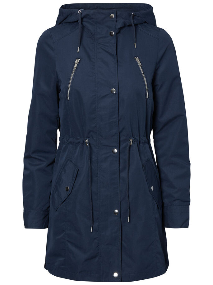CASUAL PARKA, Total Eclipse, large