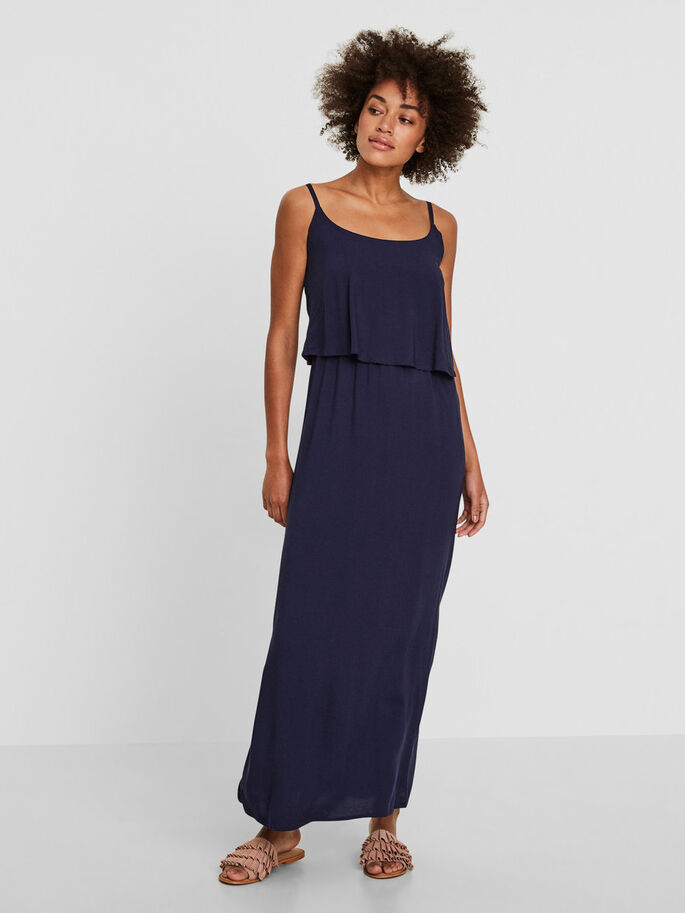 SUMMER MAXI DRESS, Black Iris, large