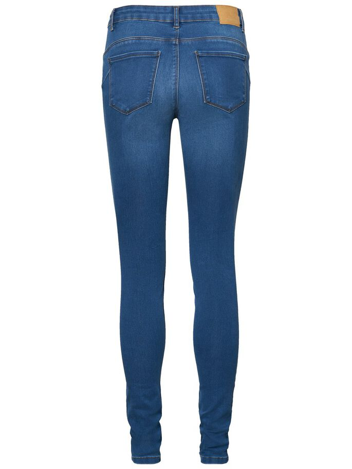 SEVEN NW SHAPE-UP SKINNY FIT JEANS, Medium Blue Denim, large