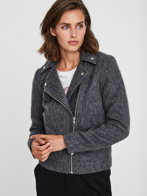 SHORT WOOL JACKET