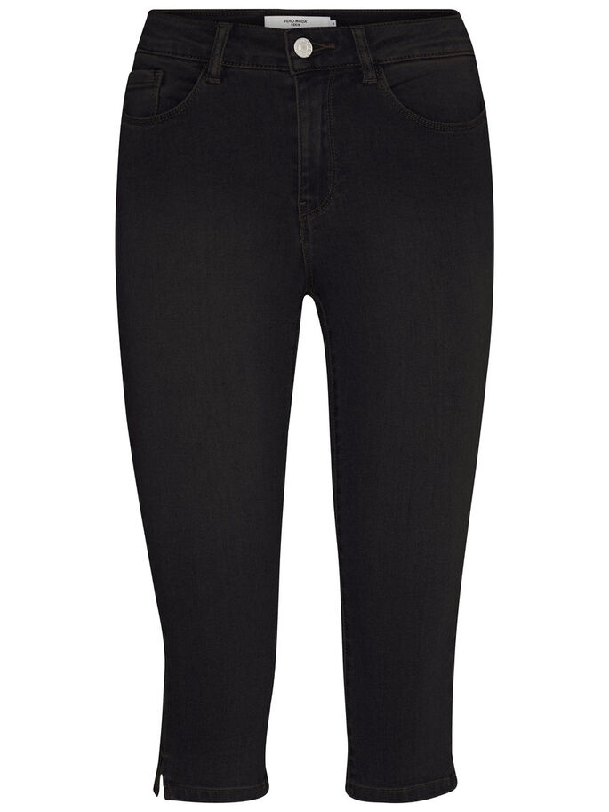 SEVEN NW DENIM CAPRIBYXOR, Black, large
