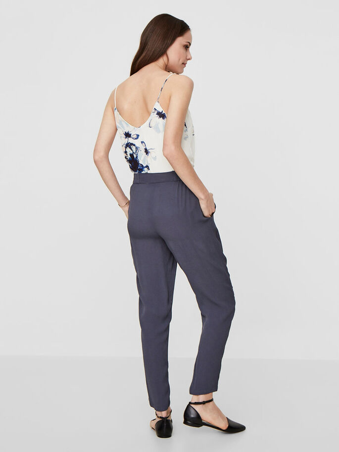 VISCOSE TROUSERS, Ombre Blue, large