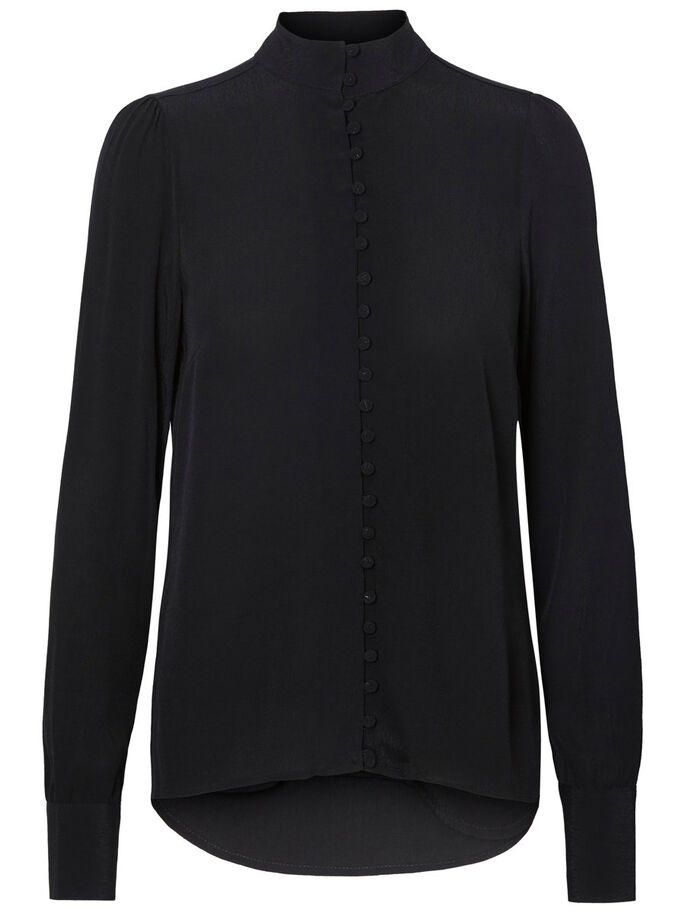 MM/VM LONG SLEEVED SHIRT, Black, large