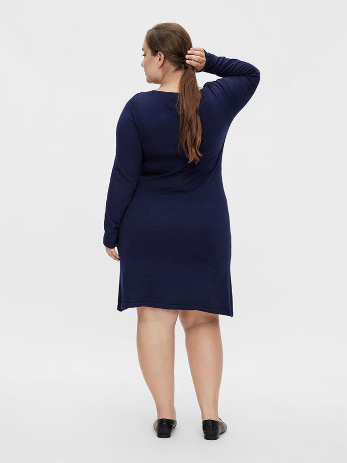 MLPAULINA CURVE 2-IN-1 MATERNITY DRESS, Medieval Blue, large