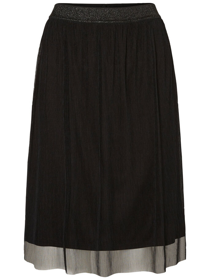 HW TULLE SKIRT, Black, large