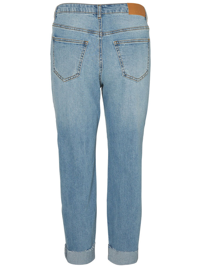 LIV NW STRAIGHT FIT JEANS, Medium Blue Denim, large