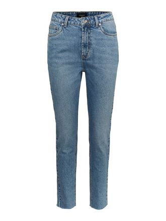 VMBRENDA HIGH WAISTED STRAIGHT FIT JEANS
