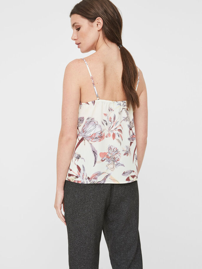 FLOWER SINGLET, Snow White, large