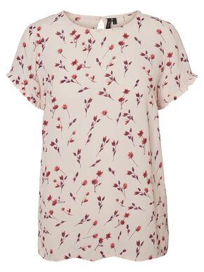 VISCOSE SHORT SLEEVED TOP