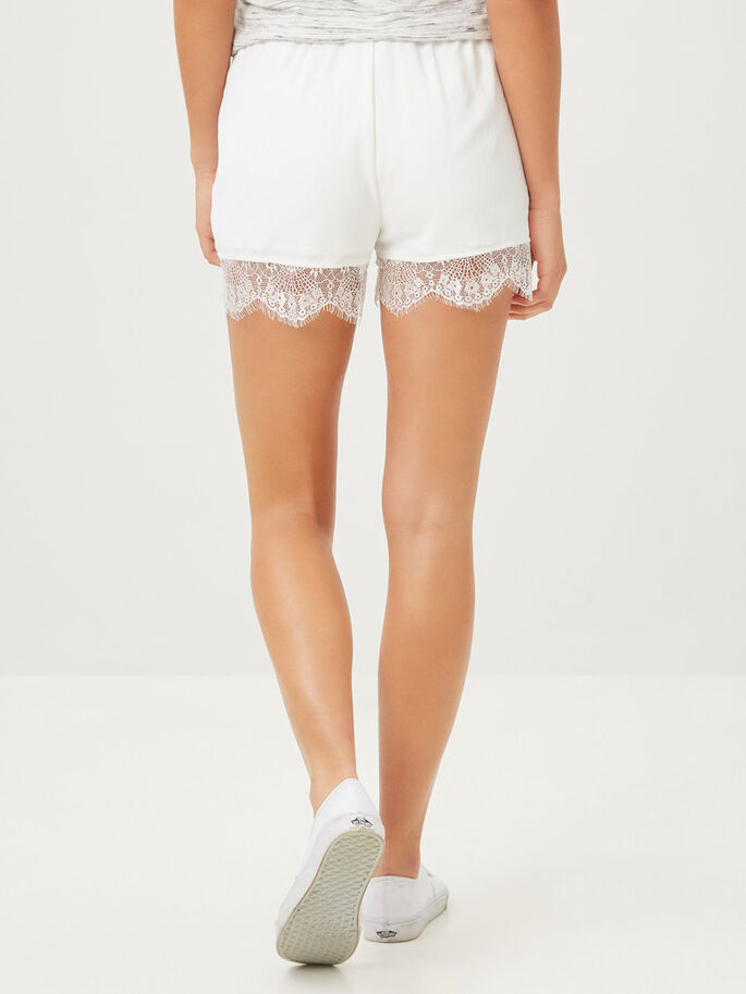 LACED SHORTS, Snow White, large