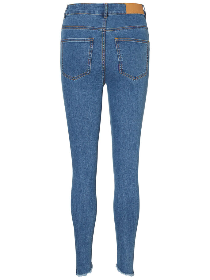 SKY HW ANKLE SKINNY FIT JEANS, Medium Blue Denim, large