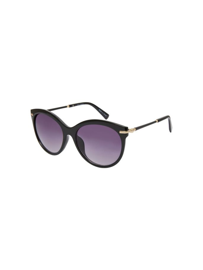 FASHION SUNGLASSES, Black, large