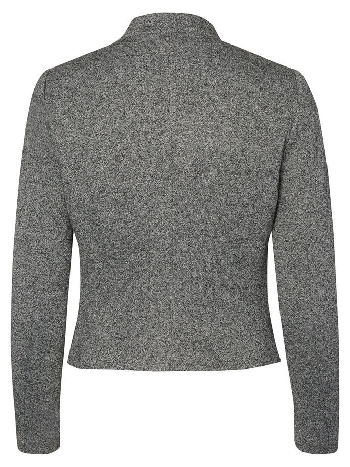 KLASSISK KAVAJ, Dark Grey Melange, large